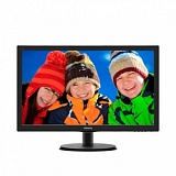 "Монитор LCD PHILIPS 21.5"" 223V5LSB2/10(62) Black LED, LCD, Wide, 1920x1080, 5 ms, 90°/65°, 200 cd/m, 10M:1"