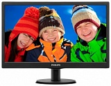 "Монитор LCD PHILIPS 19, 5"" 203V5LSB26 (10/62) Black TN LED, Wide, 1600x900, 90/50, 1000000:1, 5ms, 200cd/m"